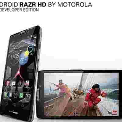 无锁随便刷:摩托RAZR HD开发版开卖