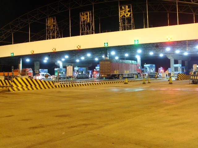高速收费站红叉绿箭安装案例