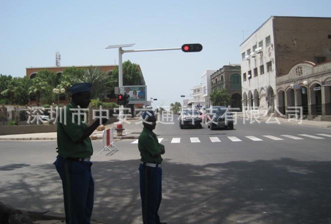 非洲交通信號燈安裝案例