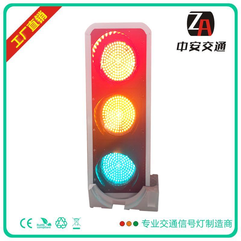 400mm红黄绿满盘LED交通信号灯三单元