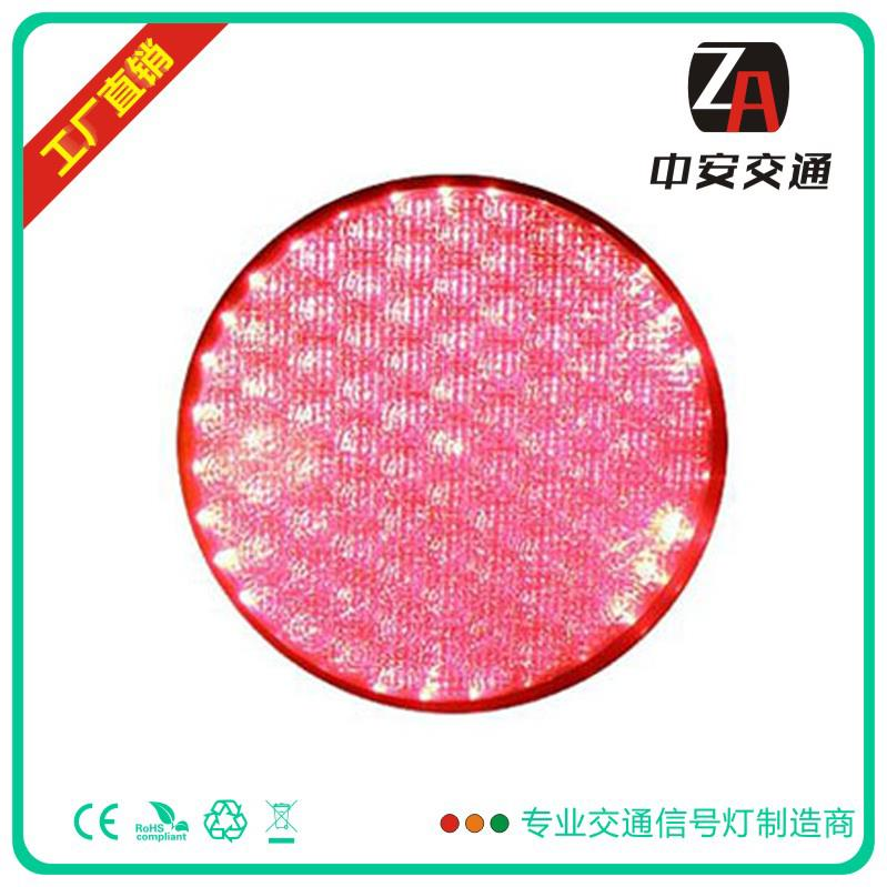 300mm Cobweb Lens Red LED Traffic Light Module